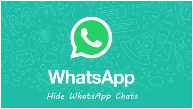 إخفاء دردشات WhatsApp 1