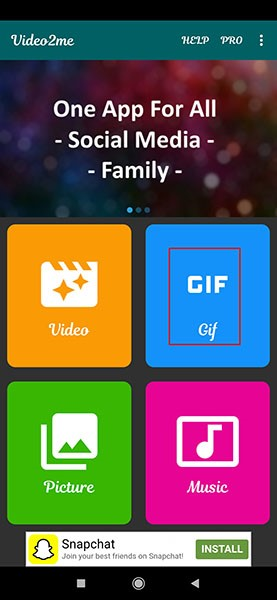 إرسال صورة gif على whatsapp باستخدام جهاز android 3
