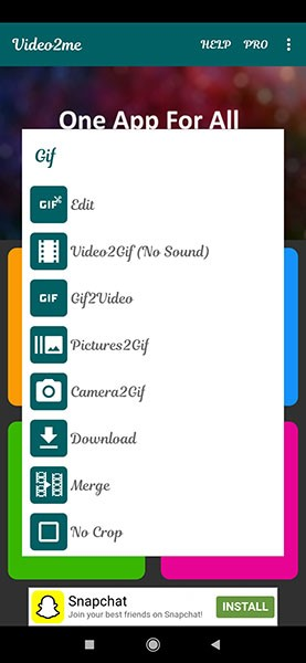 send a gif on whatsapp on android 4