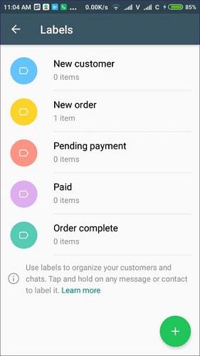 benefits of business whatsapp account