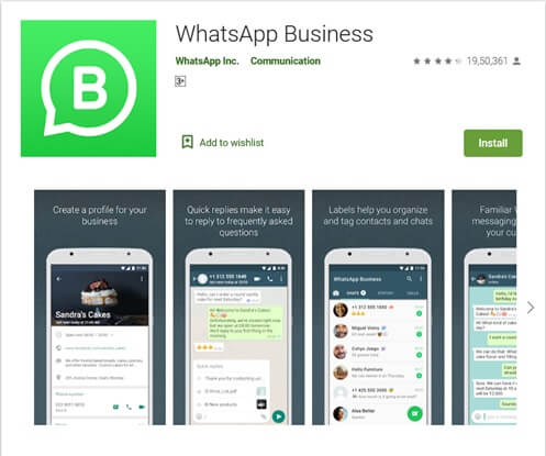 WhatsApp Business para android