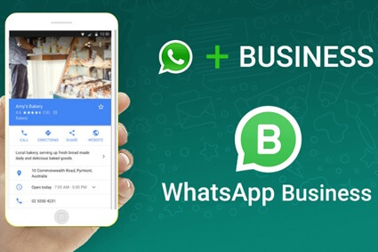 conta pessoal do WhatsApp Business