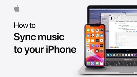 Music mac to iPhone