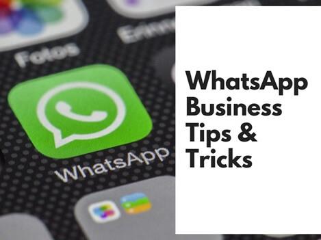 Whatsapp business tips