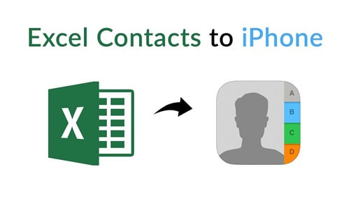 Excel kontakte iPhone