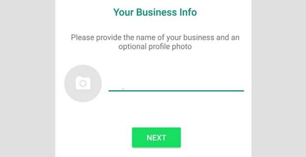 Perfil de WhatsApp Business