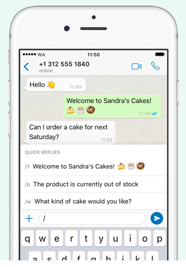 WhatsApp Business Catalog
