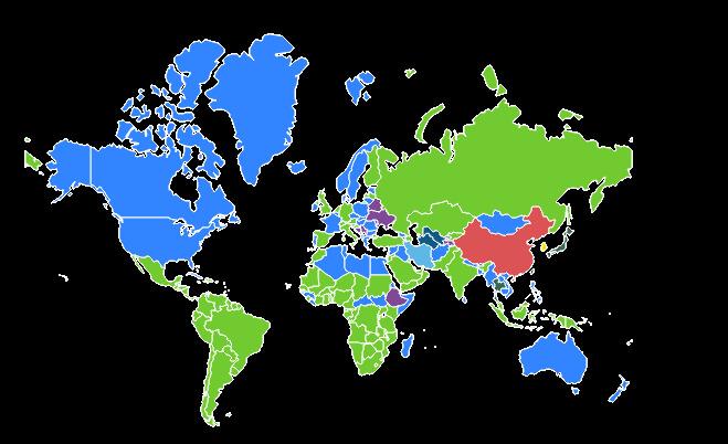 uso do whatsapp no mundo