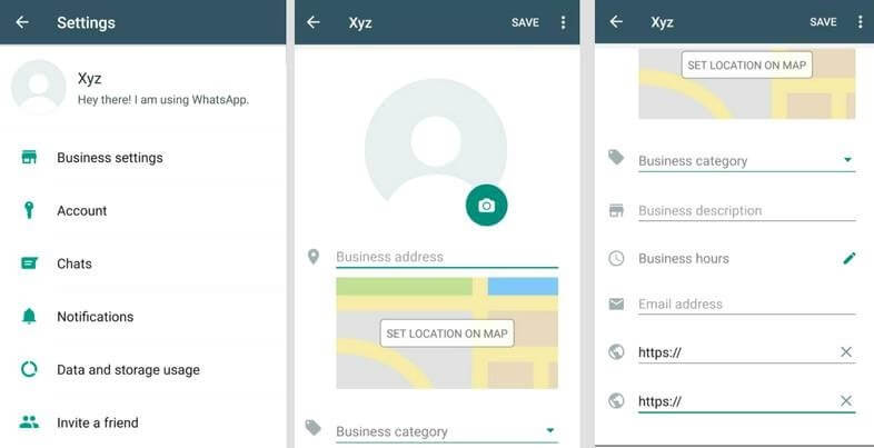 WhatsApp Business, Business-Profile