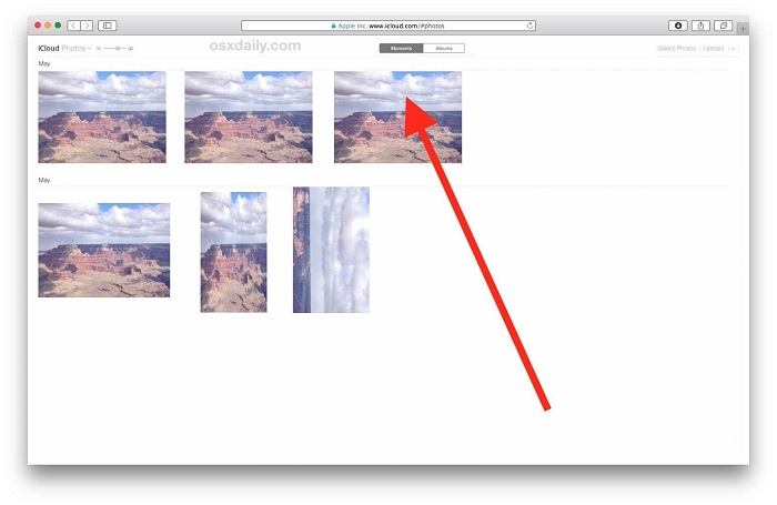 how to get photos from iCloud onto iPhone