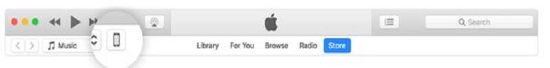 iTunes transfer pic