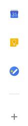 Google Keep in Gmail
