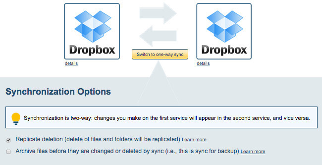 how to run dropbox on two accounts 12