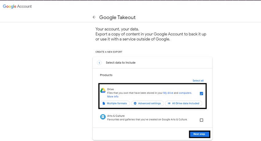 merge google drive accounts 8