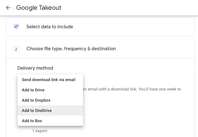 migrate google drive to onedrive 5