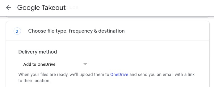 migrate google drive to onedrive 6