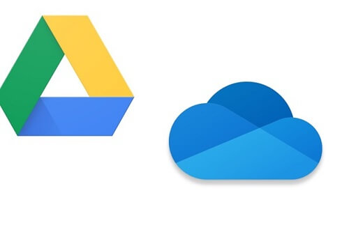 Google drive and onedrive