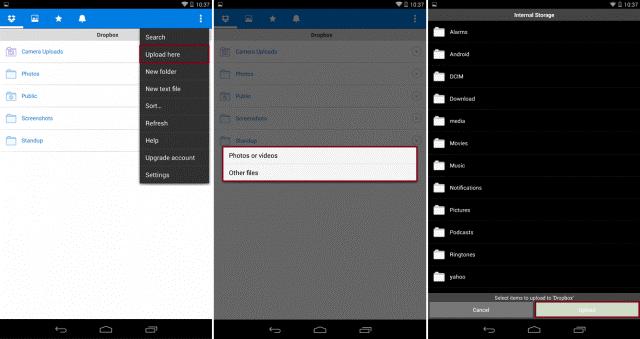 Wie Sie Fotos von Android auf den Mac übertragen-Hochladen