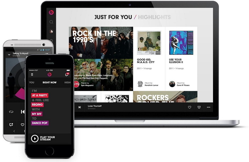 Transfer music from iPhone App to iTunes-Beats Music