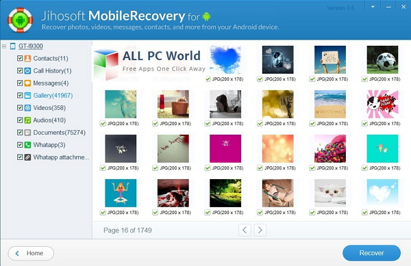 best Android whatsapp recovery tool: jihosoft