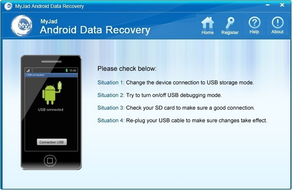 best Android whatsapp recovery tool: myjad