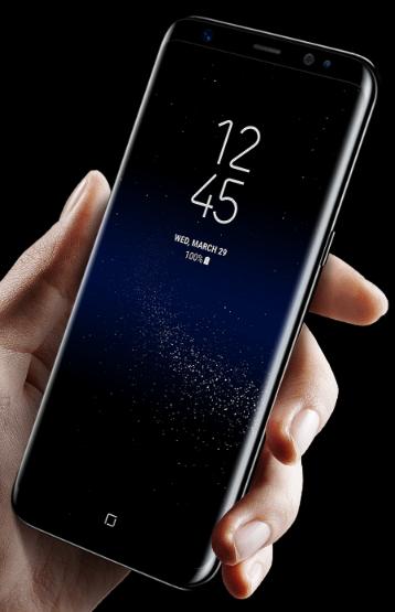 galaxy s8- design