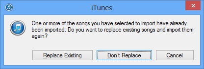 transfer music from iPhone to iPod - using cd step 2