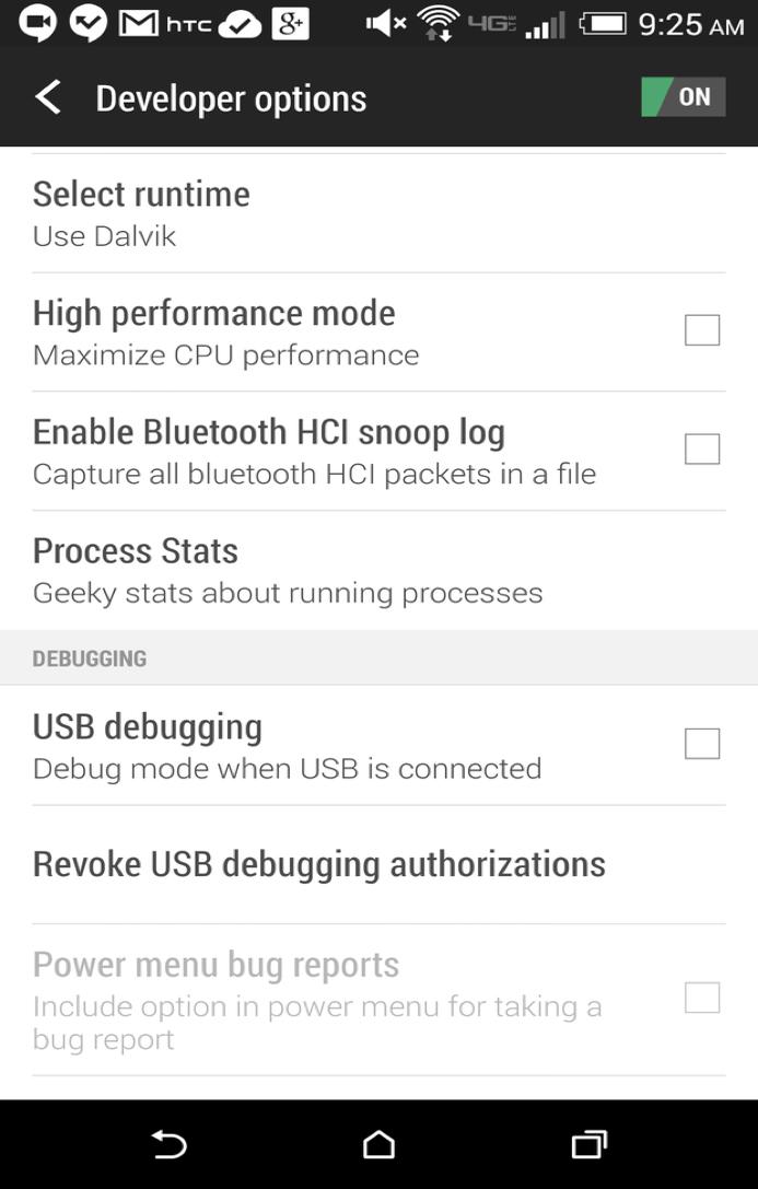 salvaguarde os dados usando o pacote de desenvolvedor de software android