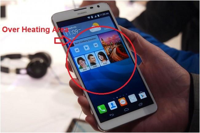 huawei phones a aquecer com o consumo de bateria
