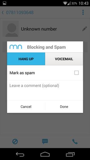 como bloquear chamadas estranhas no android