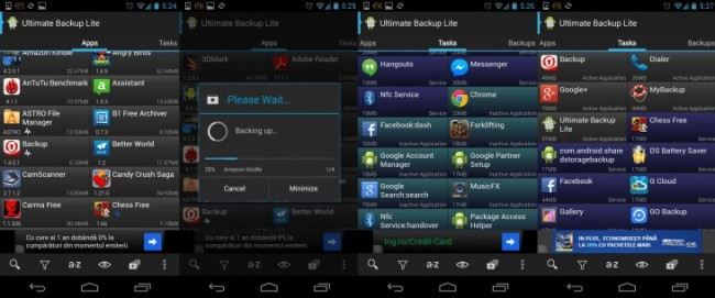 top 5 contactos uteis aplicativos de backup para android