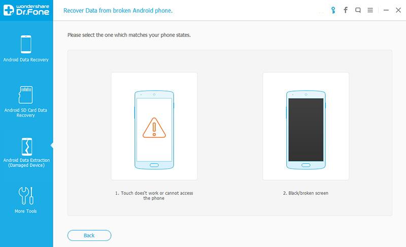 como acessar arquivos em um telefone android com uma tela quebrada