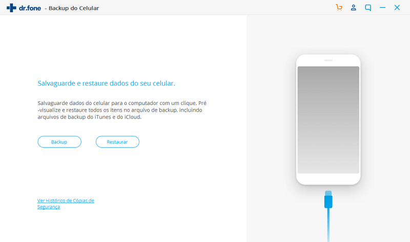 iniciar backup do cartão sd no android