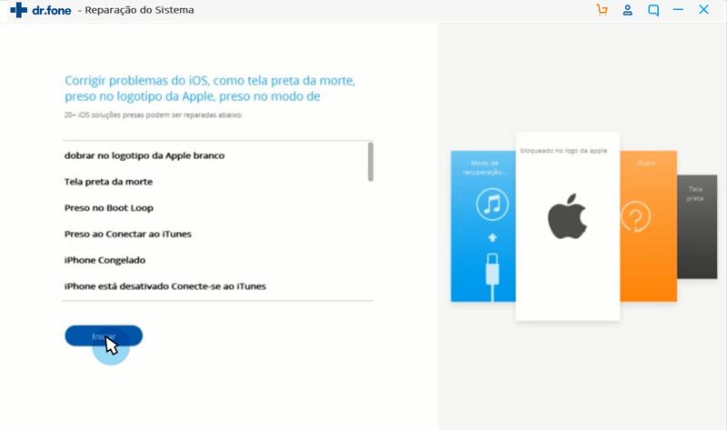 iPod touch preso no logo da apple