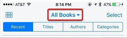 como acessar os arquivos pdf e epub