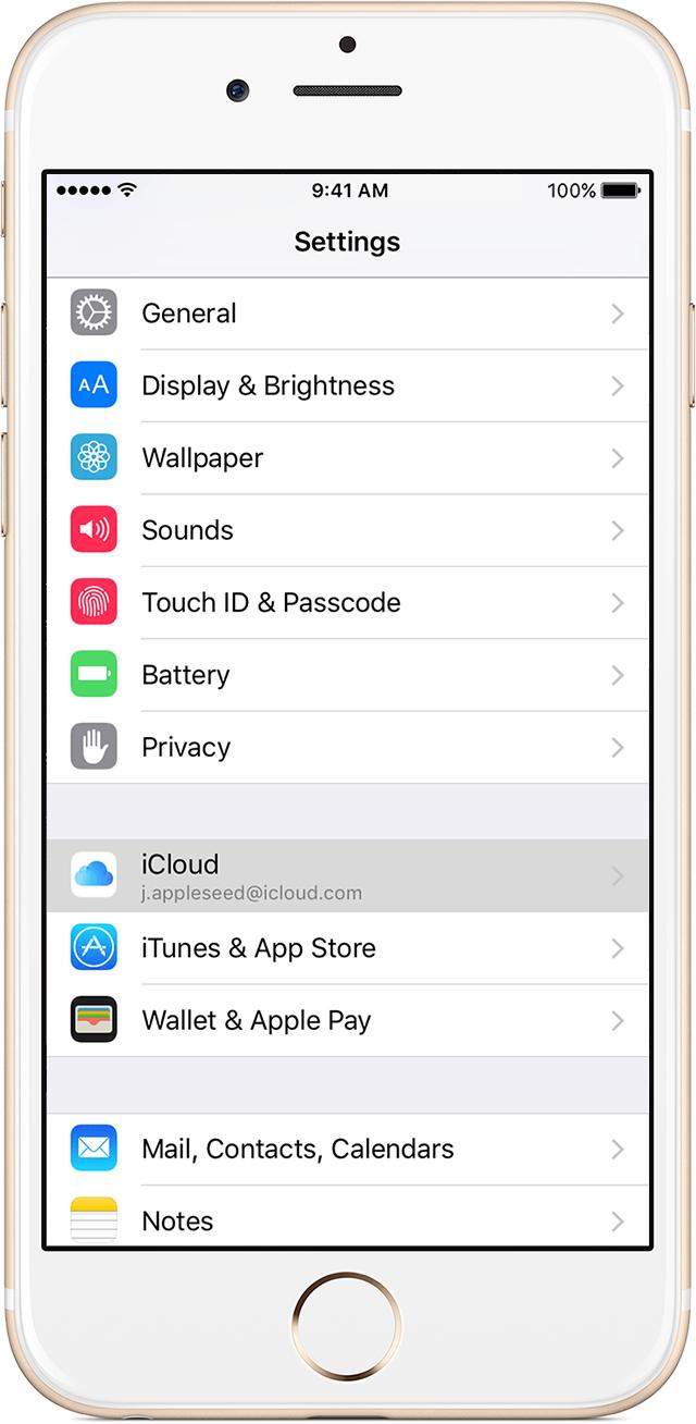 faca backup de seus dados quando o iphone esta a venda