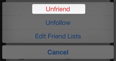 como bloquear pessoas no facebook no iphone ipad