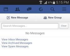 como ver dados na pasta outros no facebook em diferentes plataformas