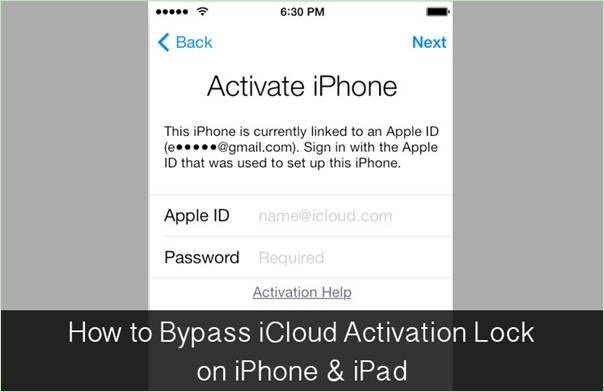 Como ignorar o bloqueio de ativação do iCloud no iPhone e no iPad