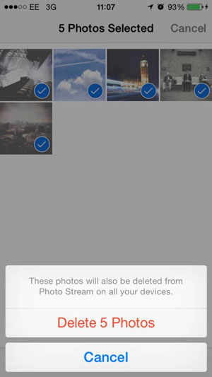 como excluir fotos do icloud permanentemente