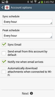 passos para configurar conta icloud no android
