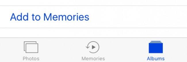como usar a foto memorias no ios 10