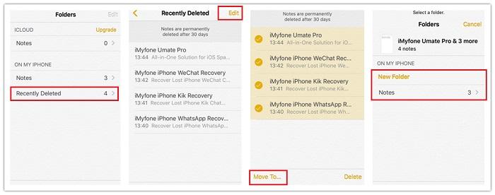 formas comuns para recuperar dados apagados do seu iphone 7