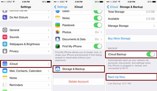 Dicas e truques para iPhone Como suporte a backup no Mac