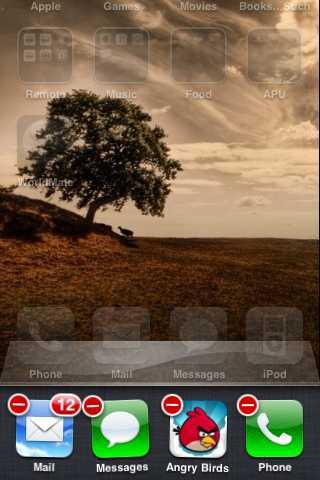primeiro metodo para forcar a paragem de aplicativos no ipad ou iphone