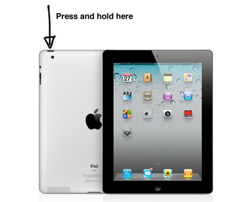 quarto metodo para forçar a paragem de aplicativos no ipad ou iphone