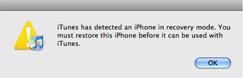 como retirar o seu ipod do modo de recuperacao com o itunes