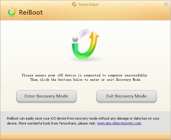 ferramenta do modo dfu reiboot