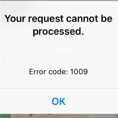 4 maneiras de corrigir iphone erro 1009 durante a transferencia apps