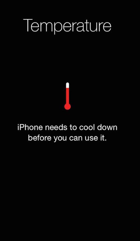 como corrigir superaquecimento no iphones